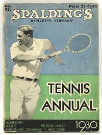 [TENNIS] SPALDING'S TENNIS ANNUAL 1930