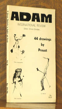 ADAM - INTERNATIONAL REVIEW VOL. XL, NOS. 394-396. 44 DRAWINGS BY PROUST