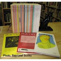 POETRY Magazine: Collection of 47 Issues, All Featuring Billy Collins by Poetry Magazine, Billy Collins from Independent bookstores - Used Book - Paperback