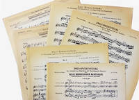 image of Zwei Konzertstucke fur Klarinette und Bassethorn mit Begleitung des Pianoforte. Nr. 1, Op. 113; No. 2, Op. 114.