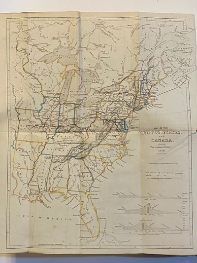 London: Longman (et al.), 1859. First Edition. Very good. 8vo. xii, 308 pp. With folding map of the ...