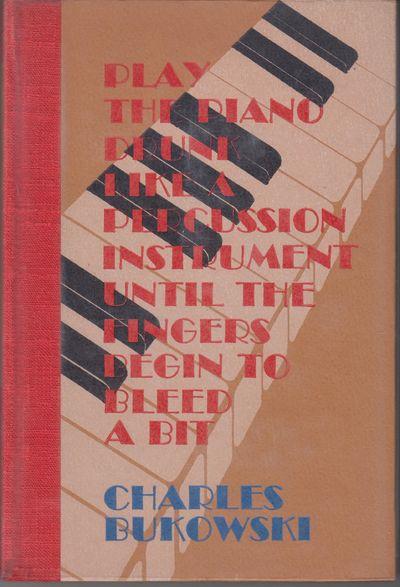 Santa Barbara: Black Sparrow Press. 1979. First Edition; First Printing. Hardcover. No 230 of 300 ha...