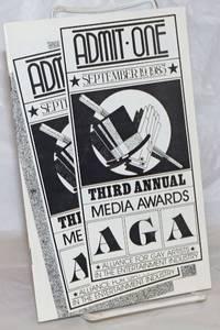 image of Third Annual AGA Media Awards [program] September 19, 1983