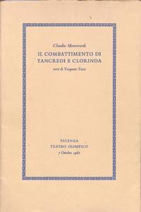 Il Combattimento eli Taueredi e Clozincla versi di Torquato Tasso.