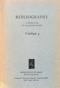 Catalogue 9/1965 : Bibliography. A selection of standard works