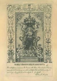 Maria Virgo in coelum assunta .. nella Chiesa Parrocchiale di Cerasa venerata ... (a Narni ?).
