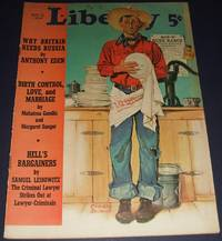 image of Vintage Issue of Liberty Magazine for August 1939 Cover Art by Crosby  Demoss