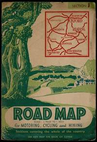 image of Road Map for Motoring, Cycling and Hiking: Section J (Oxford, Reading, Swindon, Winchester)