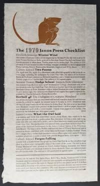 The 1979 Janus Press Checklist
