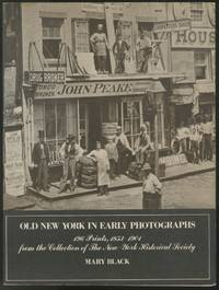 image of Old New York in Early Photographs: 1853-1901: 196 Prints from the Collection of The New-York Historical Society