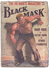 """CRIME WANTED - MALE OR FEMALE"""" [RED HARVEST - PART 2] [IN] BLACK MASK - VOL.VI, NO.4..."""