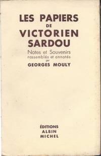 Les papiers de Victorien Sardou