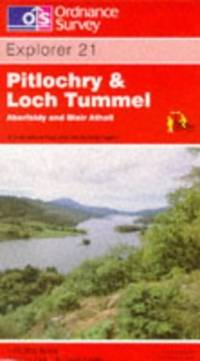 image of Pitlochry and Loch Tummel (Explorer Maps)