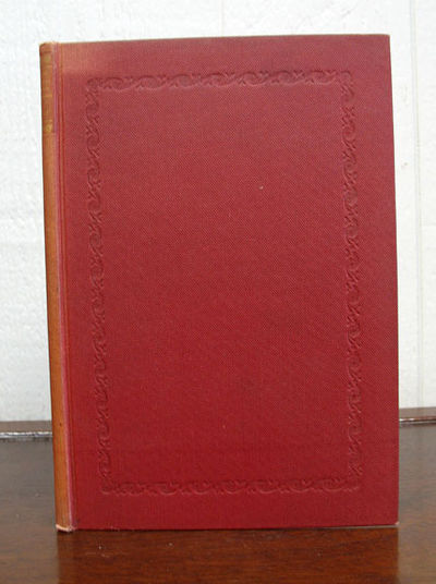 Chicago: The Caxton Club, 1938. 1st edition. Limited to 250 cc. Red cloth binding. Nr Fine (spine a ...