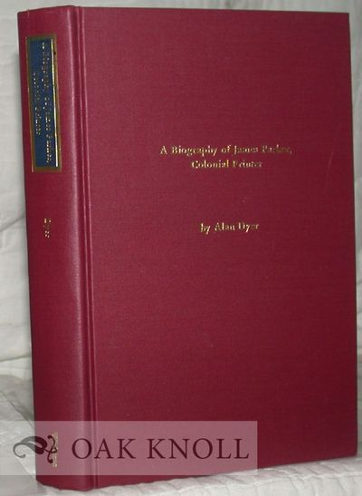 Troy, NY: The Whitston Publishing Co, 1982. cloth. Parker, James. 8vo. cloth. xvii, 421 pages. First...