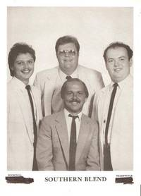 PROFESSIONAL PHOTOGRAPH  OF SOUTHERN BLEND:; American country group of male vocalists and...