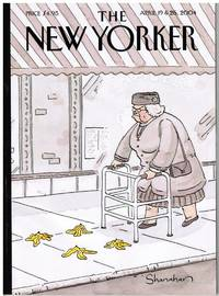 image of New Yorker Ap 04. HUMOR ISSUE, COVER SPRING BREAK by DANNY SHANAHAN