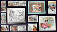 Advertising Coloring Books of the 19th and 20th Centuries