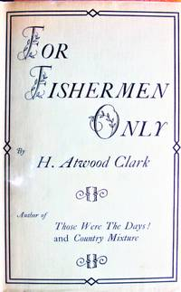 image of For Fishermen Only. in Dust Jacket