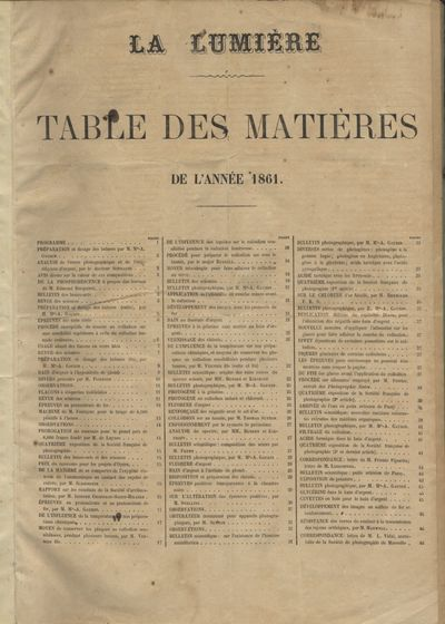 Paris: Alexis Gaudin, 1861. First edition. Folio, (ii), 96 pp. Bound in the nineteenth century with ...