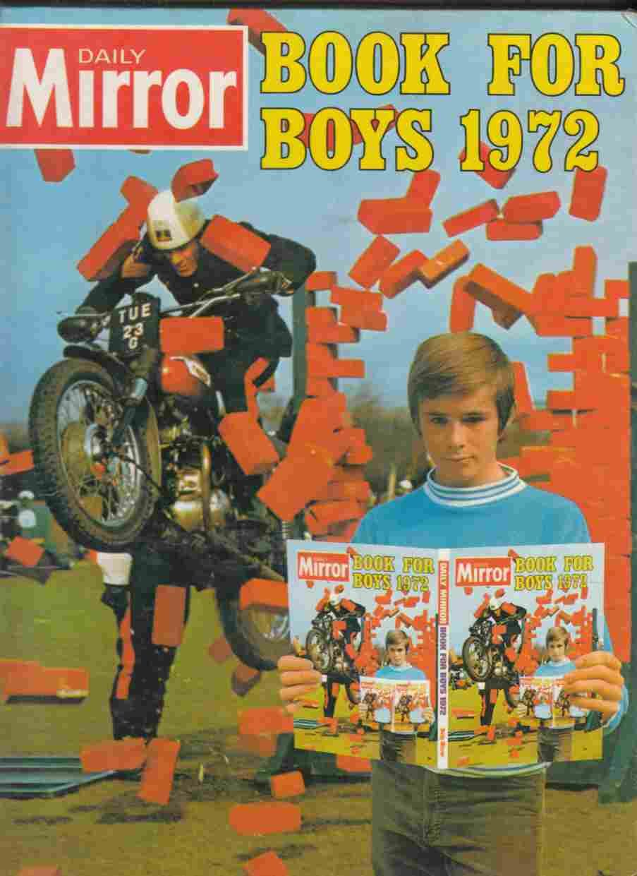 Daily mirror book for boys 1972 by anon hardcover 1971 for Mirror books
