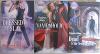 """Darkheart & Crosse Trilogy:  Vol 1:  """"Dressed to Slay"""" with Vol 2:  """"Vampaholic"""" with Vol 3:  """"Dead Is the New Black"""" --all three (3) volumes from the """"Darkheart & Crosse Trilogy"""" (Three Chosen Sisters. One"""