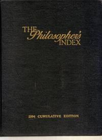 Philosopher's Index, The Cumulative Edition 1994