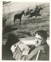 Giant (Original photograph of George Stevens promoting the 1956 film)