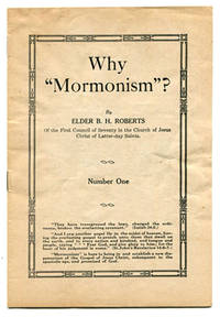 "Why ""Mormonism""? (Number One)"