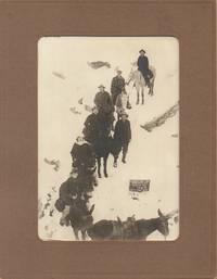 Bright Angel Trail, 1918 - B & W Photograph