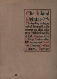 The Inland Printer, July, 1907. Volume XXXIX, Number 4.