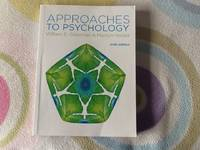 image of Approaches to Psychology