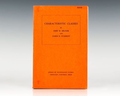 Princeton, NJ: Princeton University Press, 1974. First edition. Octavo, original wrappers. Signed by...