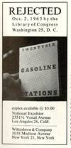 View Image 2 of 2 for Artforum. March 1964, volume 2, number 9. Twentysix Gasoline Stations. With facsimile of Library of ... Inventory #69003