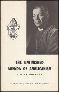 The Unfinished Agenda of Anglicanism