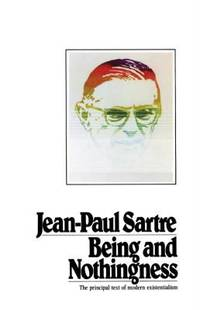 Being and Nothingness by Jean-Paul Sartre - 1993
