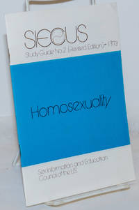 image of Homosexuality [pamphlet] SIECUS Study Guide #2 [revised edition]