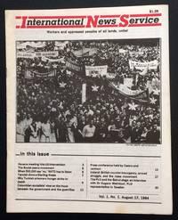 International News Service. Vol. 1 no. 1 (August 17, 1984)
