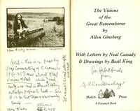 THE VISIONS OF THE GREAT REMEMBERER Inscribed to Herbert Huncke
