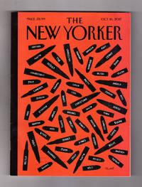 The New Yorker - October 16, 2017. Trump and the Vegas Tragedy; Birth of a White Supremacist; Haiku; House of Shadows; Rex Tillerson; Jennifer Egan; Blade Runner 2049; Edgar Oliver