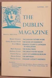 image of The Dublin Magazine, Volume 8, Number 8, Summer 1971.