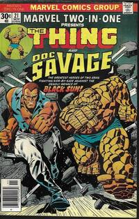 image of Marvel Two-in-One: THE THING AND DOC SAVAGE #21: Nov 1976