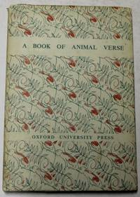 A Book of Animal Verse (chosen by)