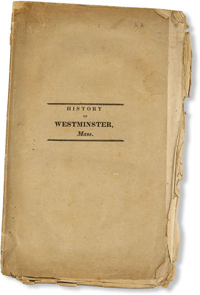 Mendon, MA: G.W. Stacy, 1832. First Edition. Paperback. Octavo (25.5cm.); publisher's tan printed wr...