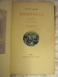 Herodias by  Gustave Flaubert - Hardcover - Limited - 1890 - from Charity Bookstall and Biblio.com