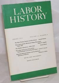 image of Labor history. vol 15, no. 2 Spring, 1974