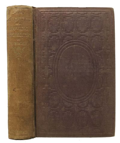 New York: W. P. Petridge & Co, 1857. 1st edition. Original brown cloth with gilt spine lettering & b...