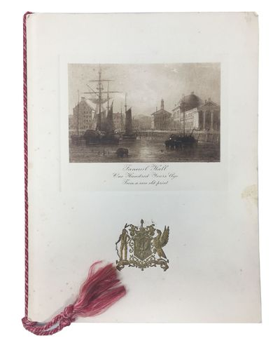Boston: McKenzie Engraving Co, 1928. 1st Printing. Original publisher's off-white stiff cards stock ...