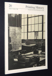 Printing History: The Journal of the American Printing History Association, #20, Vol. X, No. 2, 1988