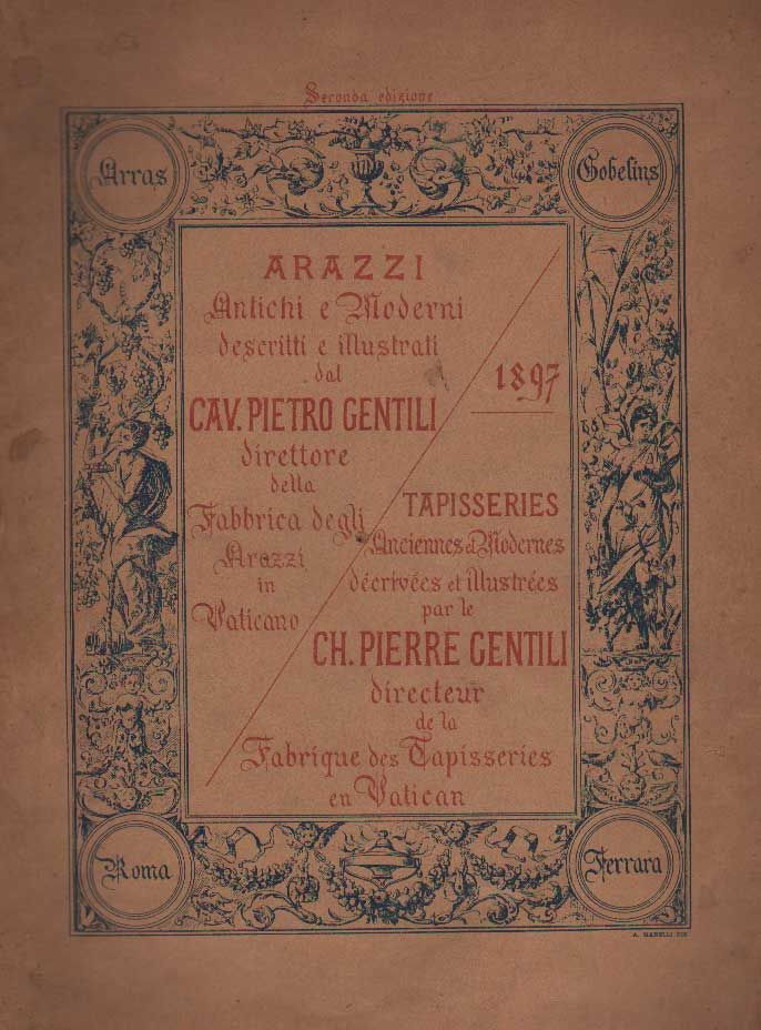 Arazzi antichi e moderni by gentili p 1897 from for Arazzi moderni
